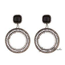 1Pair Womens Long Tassel Boho Ear Drop Dangle Ear Stud Earrings Fashion Jewelry