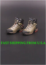"1/6 Soldier Assault Combat Boots A For 12"" Hot Toys Phicen Male Figure ❶USA❶"