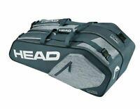 Head Core 6R Combi Anthracite/Grey Tennis Bag Tennistasche