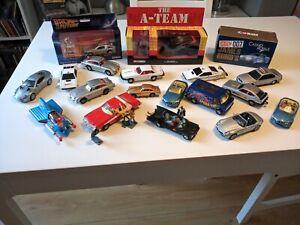 Vintage Corgi toy car collection Batmobile 267  Aston Martin 261 Lotus 269