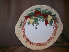 WEDGWOOD HOME AMWAY ENGLAND 1998 CHRISTMAS SERVING PLATE