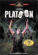 Oliver Stone ~ Platoon ~ Charlie Sheen Tom Berenger ~ DVD WS ~ FREE Shipping USA