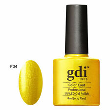 gdi nails UK Classic Soak Off Salon Quality UV/LED Gel Nail Polish FREE POSTAGE