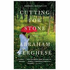 Cutting for Stone by Abraham Verghese and Abraham Verghese M.D. (2010, Paperback