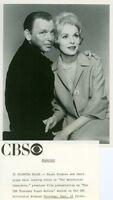 FRANK SINATRA JANET LEIGH THE MANCHURIAN CANDIDATE ORIGINAL 1965 CBS TV PHOTO