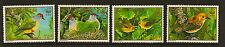 COOK ISLANDS : 1989 Birds -World Wildlife Fund-SG 1222-5 unmounted mint