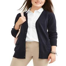 Wonder Nation Juniors' School Uniform Boyfriend Cardigan