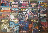 DC COMICS   BATMAN   KNIGHTFALL STORYLINE   1993   21 COMICS