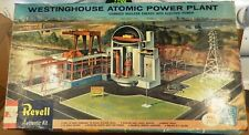 PARTS!!!  [1959] REVELL WESTINGHOUSE ATOMIC POWER PLANT & REPRO DECALS