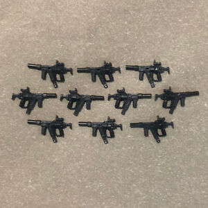 Mega Bloks Construx Call of Duty SUBMachine Gun 10 weapons lot *New Unused* Toy