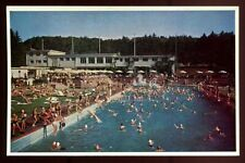 New listing 1950s Switzerland Zurich  Hotel Dolder Swimming Pool with Artificial Waves