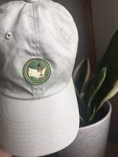 New listing Masters Golf Adjustable Hat - Unique/Rare logo - Tan - 100% Cotton Men/Women