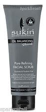Sukin Oil Balancing Charcoal Pore Refining Facial Scrub 125ml