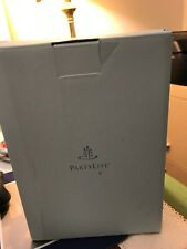 "PartyLite 8"" Wax Brocade Luminary Candle Holder with glass votive holder. Nib."