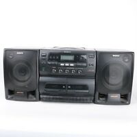 Sony CFD-565 Boombox Stereo Only Radio Works SELLING FOR PARTS ONLY