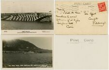 More details for 1925 ship h.m.s argus aircraft carrier 2 cards rp ppcs ..one used peterborough
