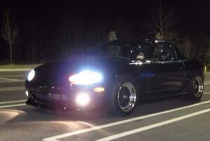 Non-Halo Fog Lamps Driving Light Kit for 1999 2000 Mazda MX-5 Miata NB 99 00