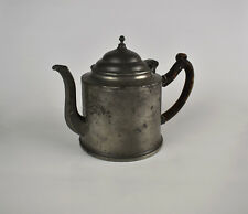 Antique Pewter Coffee Tea Pot / Kettle Belgium 18th - Early 19th Century