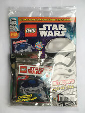 FRENCH LEGO STAR WARS MAGAZINE N°29 SEALED MINT POLYBAG DROID GUNSHIP AAT NEUF