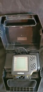 Humminbird Wide One Hundred Portable Fish Finder w/Case and Transducer