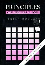 Principles of Irish Law by Doolan, Brian Paperback Book The Cheap Fast Free Post