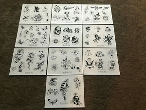 10 1975 Picture Machine 40 - 49 Risque Tattoo Flash Art Various Sizes