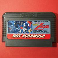 Mobile Suit Z Gundam: Hot Scramble (Nintendo Famicom FC NES, 1986) Japan Import