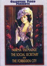 The Social Secretary / The Forbidden City [New DVD] Black & White, Silent Movi