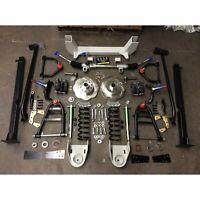 62-67 Chevy II Nova X-body Front Clip IFS Suspension Kit Stock 5x4.75 Shock Thru
