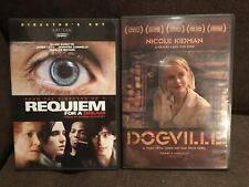 Dogville - Requiem For A Dream - Dvd Lot Of Two (2)