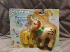 VINTAGE My Little Pony WINDY MINT IN PACKAGE Rare Rainbow Pony MIB MIP Nice