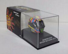 MINICHAMPS VALENTINO ROSSI MODELLO AGV CASCO HELMET 1/8 MOTOGP TEST SEPANG 2014