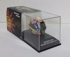 MINICHAMPS VALENTINO ROSSI MODELO AGV CASCO HELMET 1/8 MOTOGP TEST SEPANG 2014