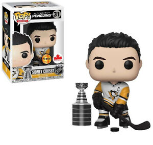 Funko Pop Hockey Pittsburgh Penguins Sidney Crosby Limited Chase Figure W/Cup