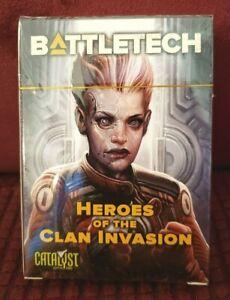 BattleTech Heroes Card Pack Clan Invasion Catalyst Kickstarter