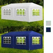 Außen Party Zelt Baldachin Pavilion Events Non-Top 6 Wände Blau/Weiß