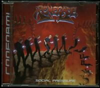 Renegade (Wisconsin) Social Pressure CD new private indie US cult metal