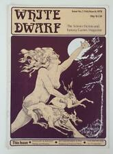 RARE ORIGINAL 1978 ISSUE #5 'WHITE DWARF' FANTASY GAMES MAGAZINE - EXCELLENT
