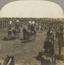 Keystone Stereoview the 48th Highlanders of Toronto, Canada on Horseback #16046