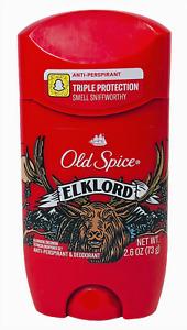 Old Spice Elklord Anti Perspirant Deodorant 2.6 oz