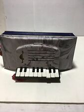 Vintage RETRO PLASTIC CHILD'S Toy Accordion Squeeze Box Carlin Brothers