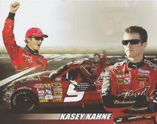 2008 Kasey Kahne Budweiser Dodge Coca-Cola 600 Win NASCAR SC B/B postcard