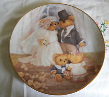 Just Married Franklin Mint Plate