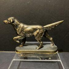 New ListingVintage Brass / cast metal Dog Retriever Irish Setter Pointer 2 available