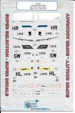 Super Scale Desert Storm F-16 Falcon Decals 1/72 622