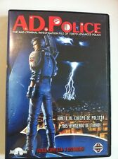 A.D. POLICE - SERIE COMPLETA - 3 CAPITULOS - DVD - 60 MIN - SELECTA VISION