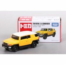 New Tomy Tomica 85 TOYOTA FJ CRUISER YELLOW 1/66 scale Japan