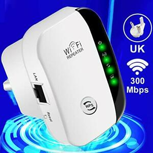 Yezala WiFi Range Extender, 300Mbps WiFi Repeater Wireless Signal Booster,