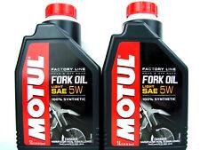 Motul Fork Oil 5W Gabelöl SAE Dämpfungsöl Motorrad Factory Line Light 2Liter