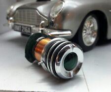 Aston Martin Mg Daimler Sunbeam Lucas Type WL3 Green Oil Warnleuchte Chrom